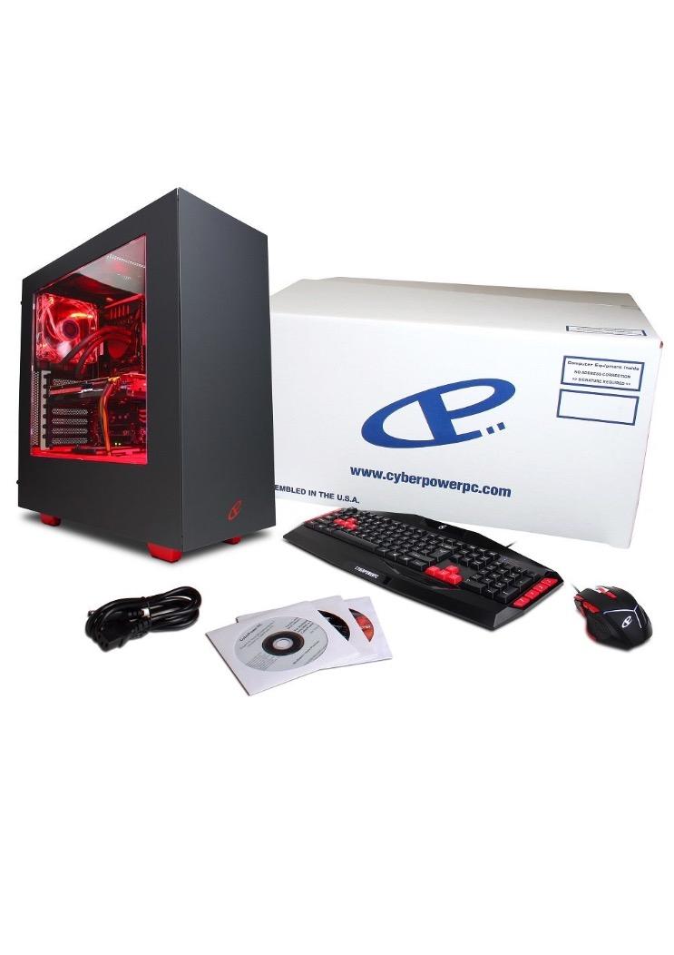 تجربة شراء جهاز كمبيوتر CYBERPOWERPC من امازون