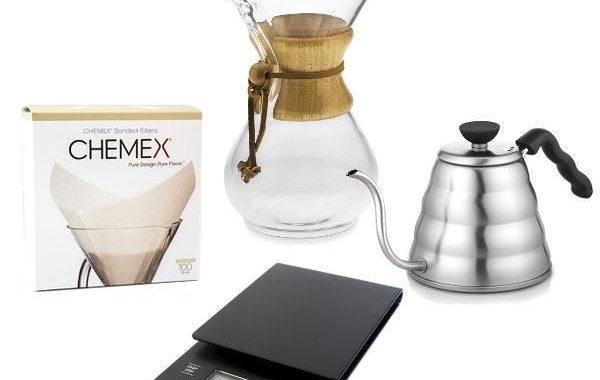 تجربة شراء اداة كيمكس ( chemex)  للقهوه المختصه