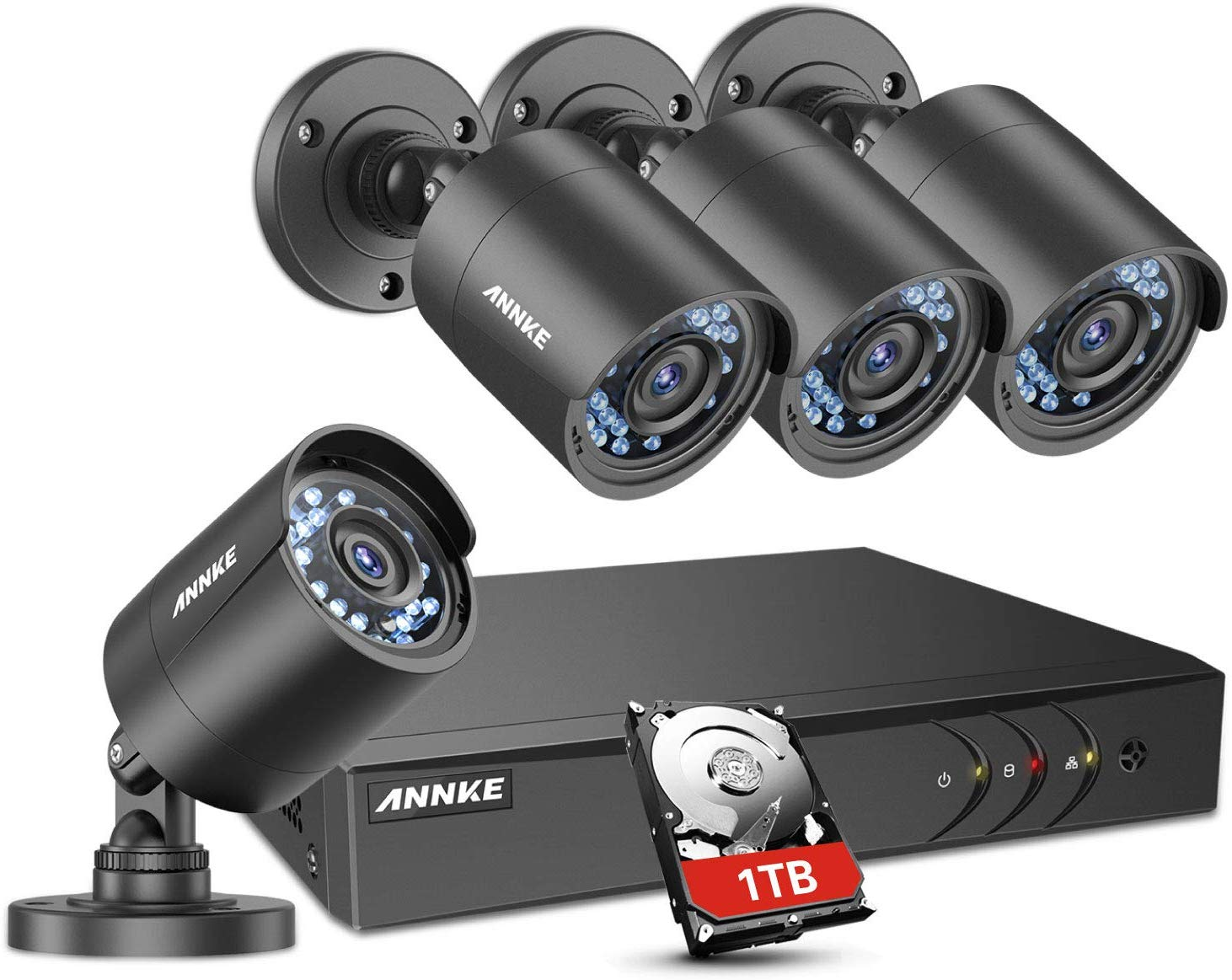 تجربة شراء كاميرة مراقبة من شركة ANNKE